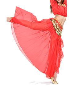 Tanssihame, vatsatanssi, nilkkapituinen, sifonki (värivalikoima)