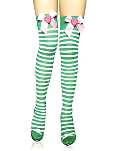 Socks/Stockings Sweet Lolita Lolita Lolita Lolita Accessories Stockings Striped For Nylon