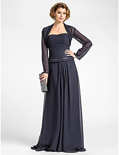 cheap -Long Sleeves Chiffon Wedding Party Evening Women's Wrap With Draped Shrugs