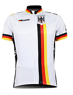cheap Cycling Jerseys-Kooplus Men's Short Sleeve Cycling Jersey - White Bike Jersey, Breathable