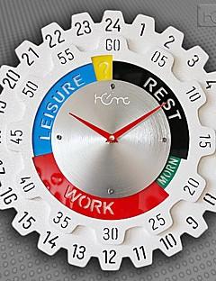 Χαμηλού Κόστους Ξύλινα Ρολόγια Τοίχου-Μοντέρνο/Σύγχρονο Ξύλο Κυκλικό Εσωτερικό