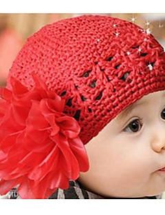 お買い得  子供用アクセサリー-女の子 帽子&キャップ, コットン混 冬 レッド ピンク