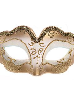 billige Masker-Maske Dame Halloween / Karneval Festival / høytid Halloween-kostymer Svart / Rød / Rosa