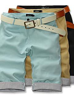HPXZ Casual Loose Fit 1/2 de bumbac lung pantaloni scurți 6425
