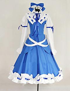 inspirert av Touhou prosjektet stjerne safir cosplay kostymer