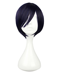 billige Anime cosplay-Cosplay Parykker Noragami Yato Anime Cosplay-parykker 30 CM Dame