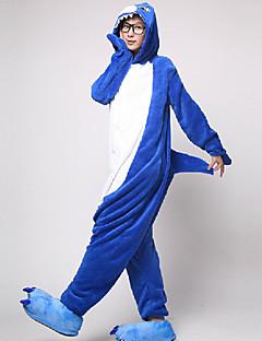 Kigurumi Pyjamas Hai Kostume Kigurumi Trikot / Heldraktskostymer Cosplay Festival / høytid Pysjamas med dyremotiv Halloween Lapper Til