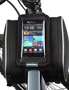 cheap Bike Bags-ROSWHEEL Bike Frame Bag Cell Phone Bag 5.5 inch Dust Proof Touch Screen Cycling for iPhone X iPhone 8/7/6S/6 Iphone 5/5S Samsung Galaxy