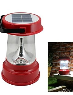 4-LED Solar Powered Camping Lantern Nødlys Outdoor Activties