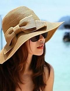 여성제품 밀짚모자 여름 캐쥬얼 밀짚