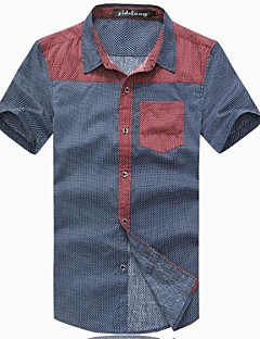 Pánská letní móda Big Size Short Sleeve T-Shirt