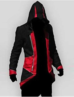cheap Videogame Costumes-Inspired by Assassin Cosplay Video Game Cosplay Costumes Cosplay Suits Patchwork Long Sleeves Coat