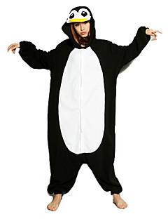 billige Kigurumi-Kigurumi-pysjamas Pingvin Onesie-pysjamas Kostume Polar Fleece Svart/Hvit Cosplay Til Pysjamas med dyremotiv Tegnefilm Halloween Festival