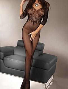 Női Ultra szexi Hálóruha Egyszínű Nejlon Szürke
