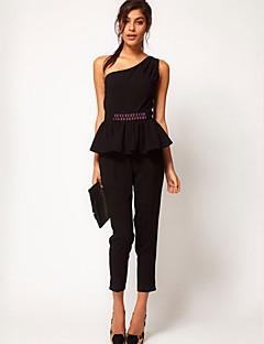 Χαμηλού Κόστους Γυναικεία Παντελόνια & Φούστες-southstore british μεσάτο με έναν ώμο jumpsuit jumpsuit