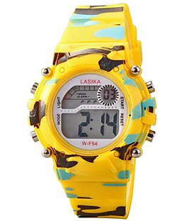 Children Round Dial Multifunction LED Digital Sports Wrist Watch 30m Waterproof (Assorted Colors) Cool Watches Unique Watches Strap Watch