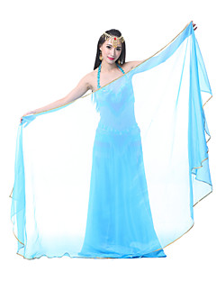 cheap Dance Accessories-Belly Dance Stage Props Women's Performance Chiffon 1 Piece Veil