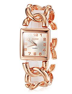 お買い得  フローラルパターン 腕時計-女性用 リストウォッチ 日本産 ステンレス バンド ヴィンテージ / エレガント / ファッション シルバー / ゴールド / ローズゴールド