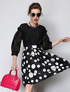 aosishan dámská všechny odpovídající západní styl šaty šaty
