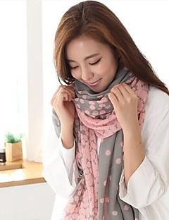 coway女性の勾配密度ドットスカーフ