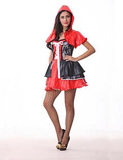 billige Halloweenkostymer-Eventyr Cosplay Kostumer Party-kostyme Dame Halloween Karneval Festival / høytid Halloween-kostymer Drakter Lapper / Satin