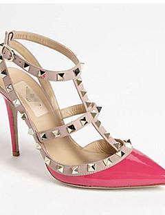 billige -Momo kvinders alle match spids tå nitte stilethæl sko