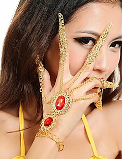 cheap Belly Dance Wear-Dance Accessories Jewelry Women's Metal Christmas Decorations Halloween Decorations