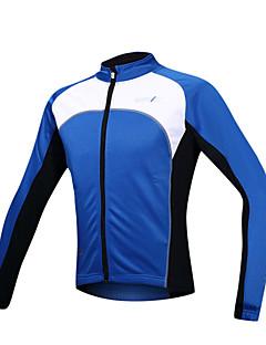 SANTIC Jaqueta para Ciclismo Homens Manga Longa Moto Jaqueta Camisa/Roupas Para Esporte Blusas Térmico/Quente A Prova de Vento Forro de