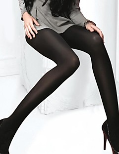 ieftine -femei chilot mediu, spandex moda. sexy mătase ciorapi negru