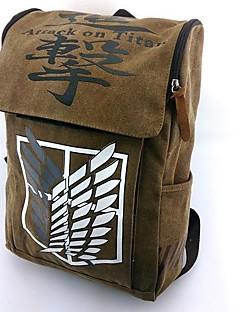 cheap Anime Cosplay Accessories-Bag Inspired by Attack on Titan Cosplay Anime Cosplay Accessories Bag Backpack Nylon Men's Women's