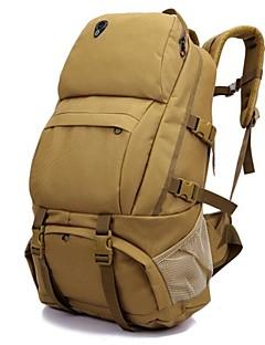 billiga Ryggsäckar och väskor-50L Ryggsäckar - Vattentät, Regnsäker, Fuktighetsskyddad Camping, Klättring, Fritid Sport oxford Brun, Grå+Vit, Kamoflage