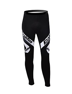 cheap Cycling Pants, Shorts, Tights-Kooplus Cycling Tights Men's Women's Unisex Bike Pants / Trousers Winter Fleece Bike Wear Thermal / Warm Waterproof Zipper Wearable
