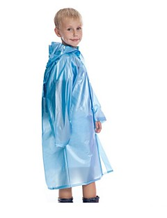 cheap Outdoor Clothing-Children's Hiking Raincoat Outdoor Portable Rain-Proof Wearable Transparent Reduces Chafing Shockproof Raincoat N/A Camping / Hiking