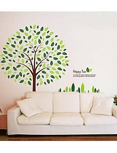 preiswerte Weihnachtswandaufkleber-Weihnachten Botanisch Cartoon Design Wand-Sticker Flugzeug-Wand Sticker Dekorative Wand Sticker, PVC Haus Dekoration Wandtattoo Wand