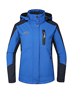 Women's Ski Jacket Waterproof Thermal / Warm Windproof Insulated Breathable Jacket Winter Jacket Top for Skiing Camping / Hiking Climbing