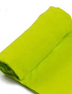 billige Bukser og leggings til piger-Leggings Ensfarvet Forår Sommer Grå Gul Grøn Blå Lys pink