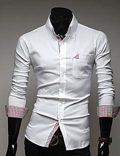 ds bărbați moda casual mare cămașă dimensiune