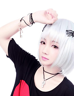 billiga Lolitaperuker-Lolita-peruker Gotisk Lolita Lolita Lolita-peruker 35 CM Cosplay-peruker Enfärgad Peruk Till