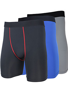 billige Løbetøj-Herre / Unisex Tætsiddende løbeshorts / Løbeshorts Hold Varm, Hurtigtørrende, Ultraviolet Resistent Shorts / Bukser / Underdele Yoga /