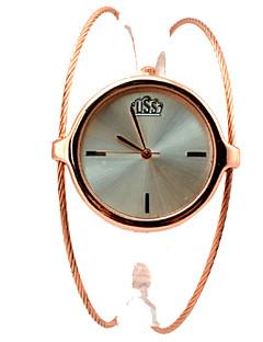 Women's Fashion Watch Wrist watch Bracelet Watch Quartz Alloy Band Bangle Elegant Gold Strap Watch
