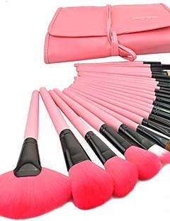 cheap Makeup Brushes-24 Makeup Brush Set Synthetic Hair Nylon Goat Hair Travel Full Coverage Eye Face Lip