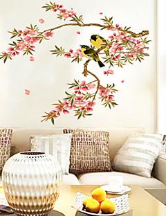 Χαμηλού Κόστους Αυτοκόλλητα Τοίχου Λουλουδιών/Φυτών-Ζώα Άνθη Κινούμενα σχέδια Αυτοκολλητα ΤΟΙΧΟΥ Αεροπλάνα Αυτοκόλλητα Τοίχου Διακοσμητικά αυτοκόλλητα τοίχου, Βινύλιο Αρχική Διακόσμηση Wall