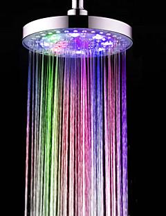 Contemporan Duș Ploaie Crom Caracteristică for  LED / Ploaie / Ecologic , Cap de dus