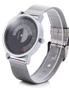 billige Rustfrit stål-Herre Armbåndsur Unik Creative Watch Quartz Legering Bånd Analog Sølv - 2# 3# 4#
