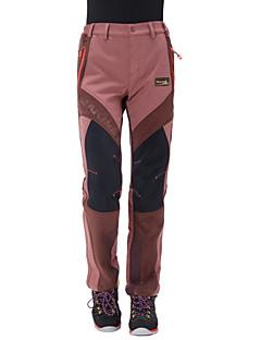 Dámské Softshell Pantolon Voděodolný Zahřívací Anatomický design Propustnost vůči vlhkosti Nositelný Prodyšné YKK Zipper Kalhoty Spodní