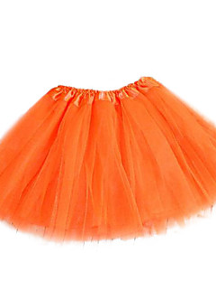 Damen Röcke Hohe Hüfthöhe Mini Polyester / Nylon Dehnbar Sommer