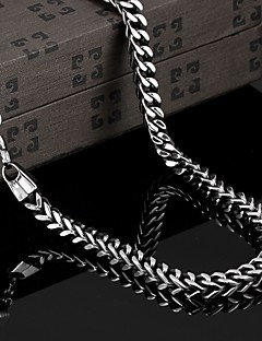Χαμηλού Κόστους Jewelry and Watch Clearance-- Τιτάνιο Ατσάλι Βίντατζ Πάρτι Γραφείο Καθημερινό Geometric Shape Κολιέ Για Χριστουγεννιάτικα δώρα