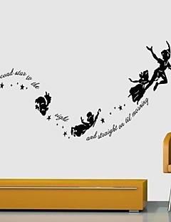 ieftine Acțibilduri de Perete Natură Statică-Oameni Animale Natură moartă Romantic Modă Forme Vacanță Vintage Fantezie Timp Liber Desene Animate Perete Postituri 3D Acțibilduri de