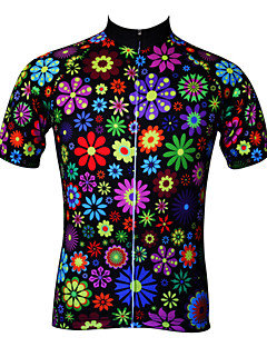 cheap Cycling Jerseys-JESOCYCLING Women's Short Sleeves Cycling Jersey Bike Jersey, Quick Dry, Ultraviolet Resistant, Breathable, Sweat-wicking, Spring Summer