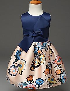 שמלה פוליאסטר קיץ ללא שרוולים הילדה של